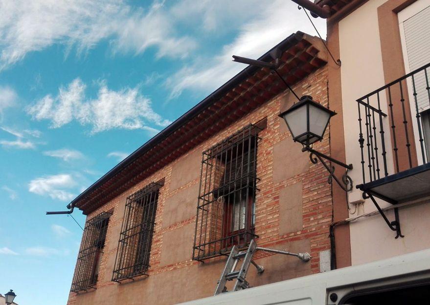 Colocación de canalones en Ciudad Real