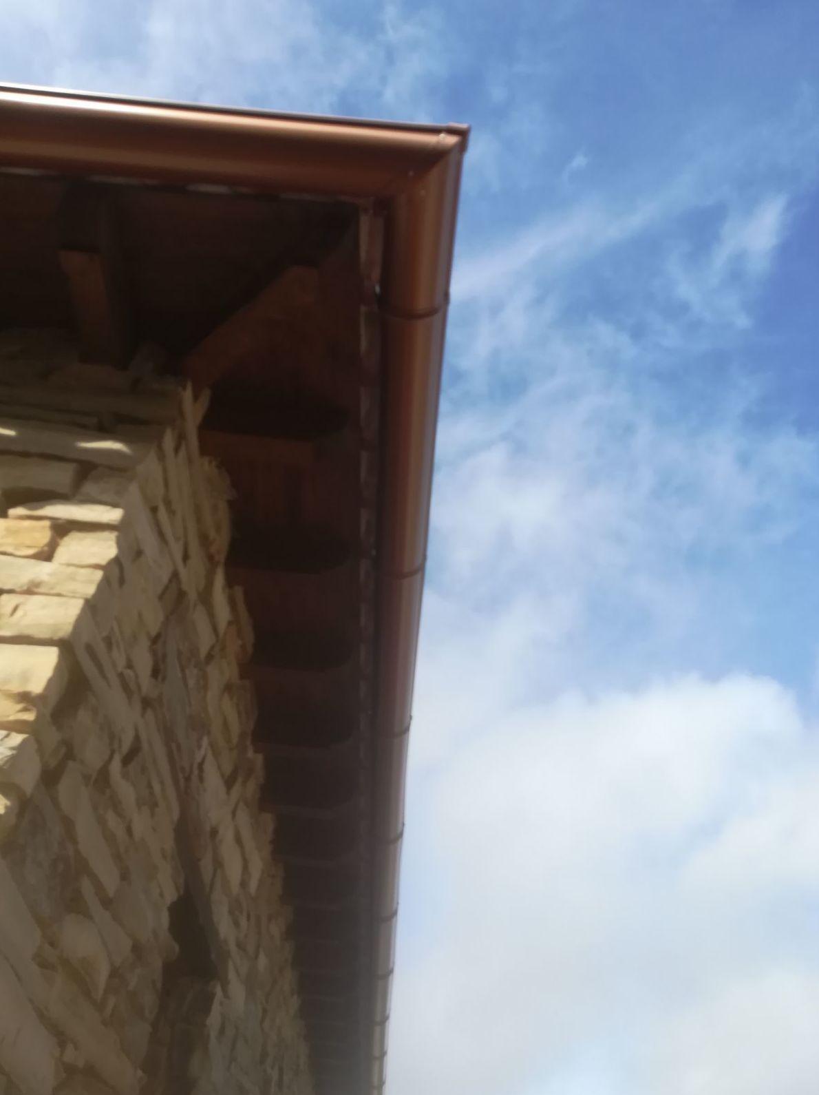 Reparación canalones Villanueva de los Infantes