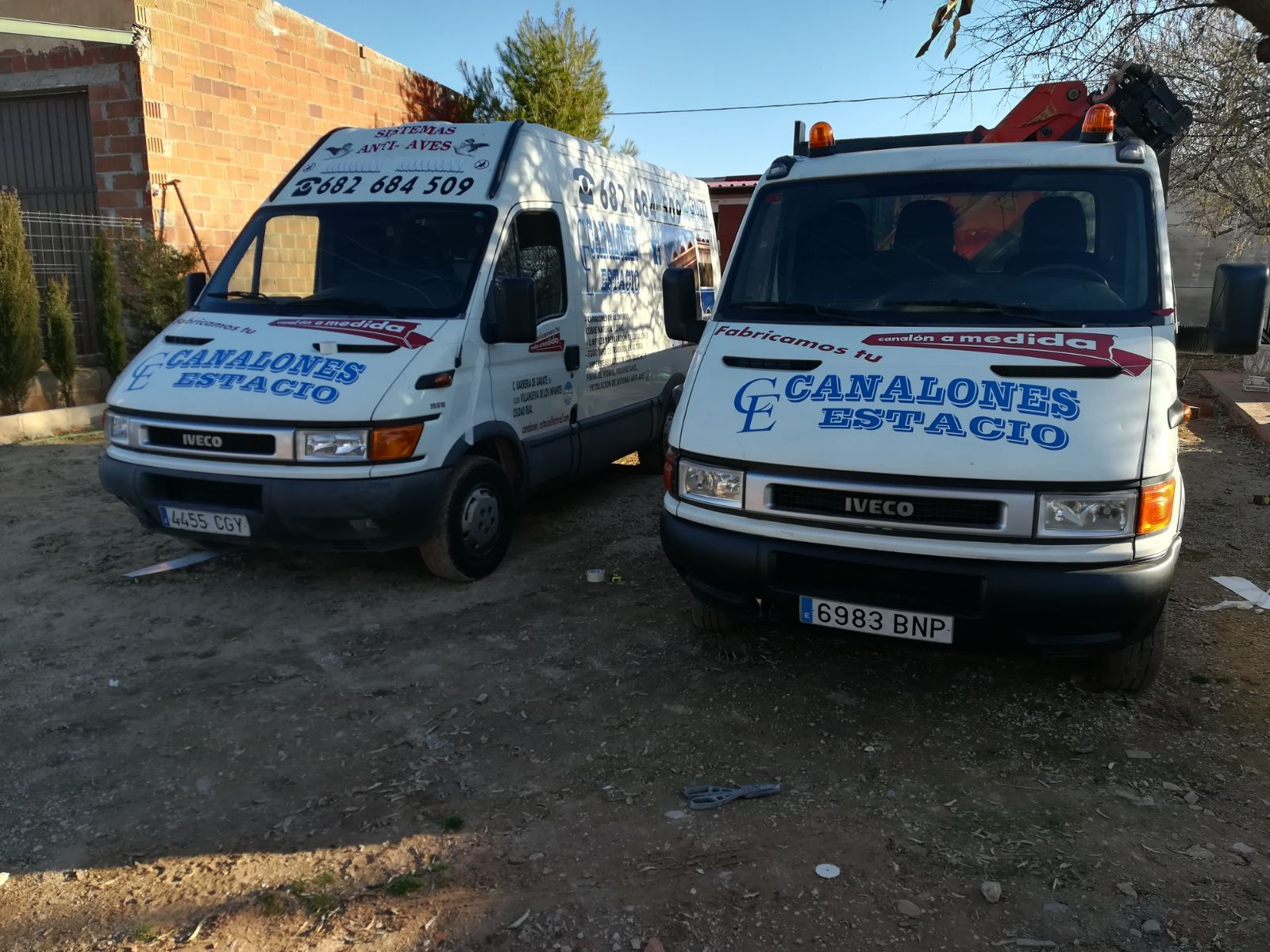 Desplazamiento provincias limítrofes: Servicios de Canalones Estacio