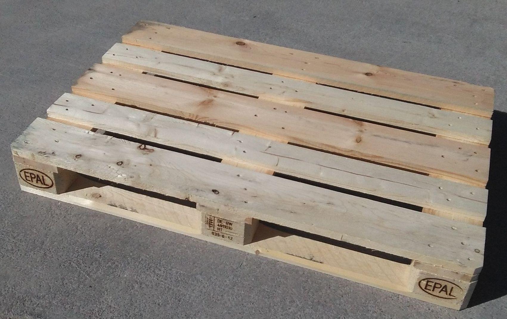Palet 800 x 1200 Fuerte: Productos y Servicios de Palman, S.L.