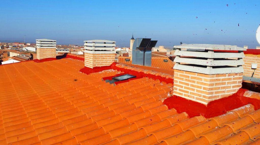Rehabilitación de tejados en Toledo