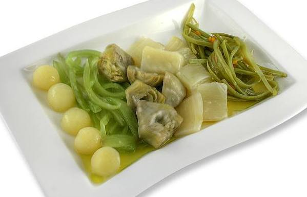 Verduras: Restaurante de Restaurante Lanziego
