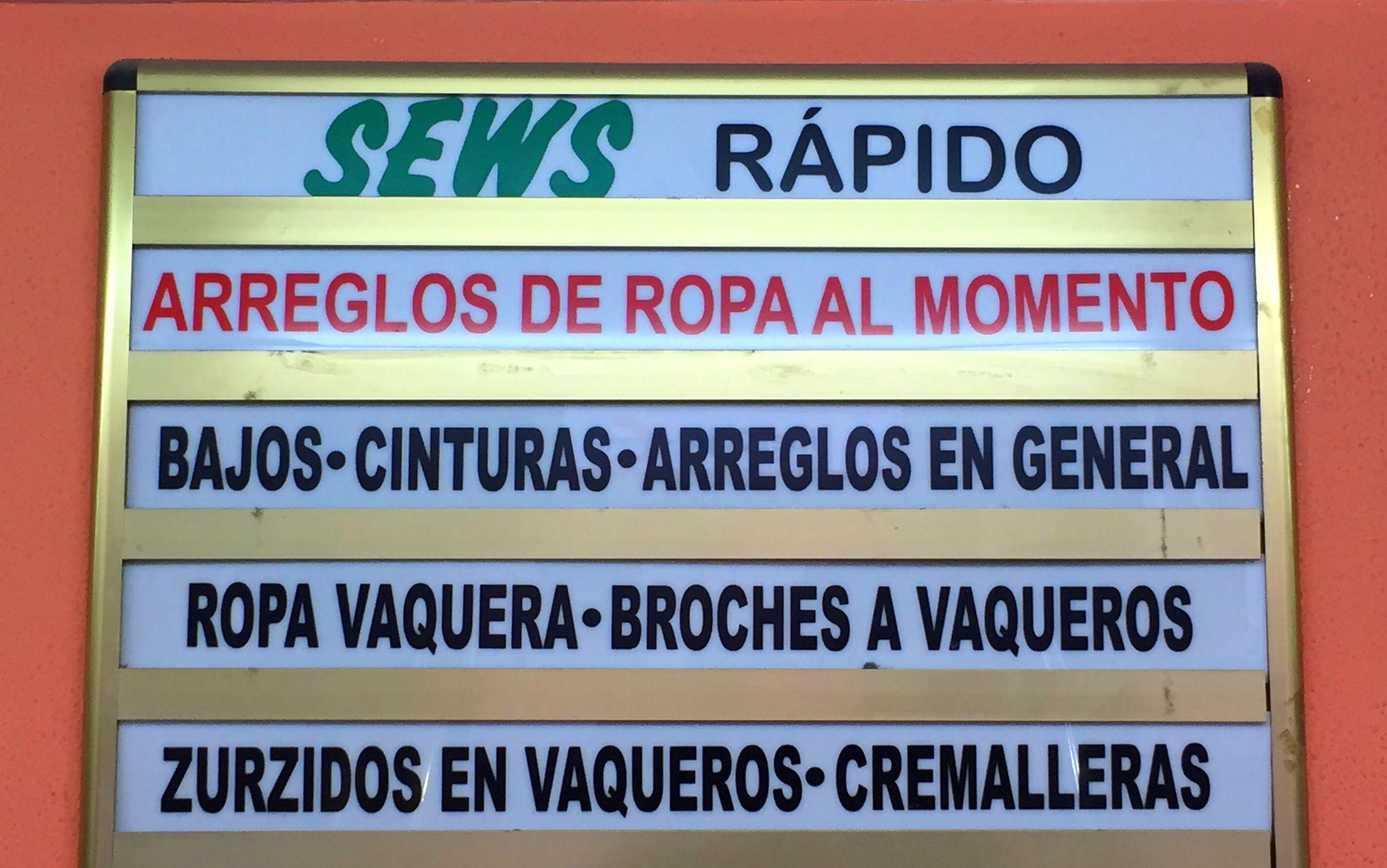 Sews Calle Zamora
