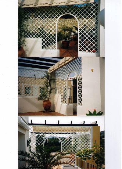 Celosías de rombos: Catálogo de Aluminios Aludecor Marbella