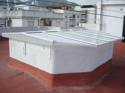 Techos a 2 aguas: Catálogo de Aluminios Aludecor Marbella