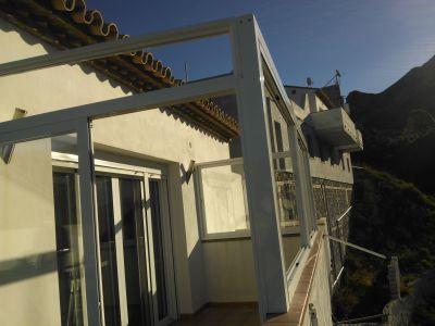 Cerramiento terraza techo Embo: Catálogo de Aluminios Aludecor Marbella
