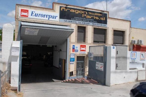 Foto 1 de Taller de vehículos en Navalcarnero | Talleres Aragón París