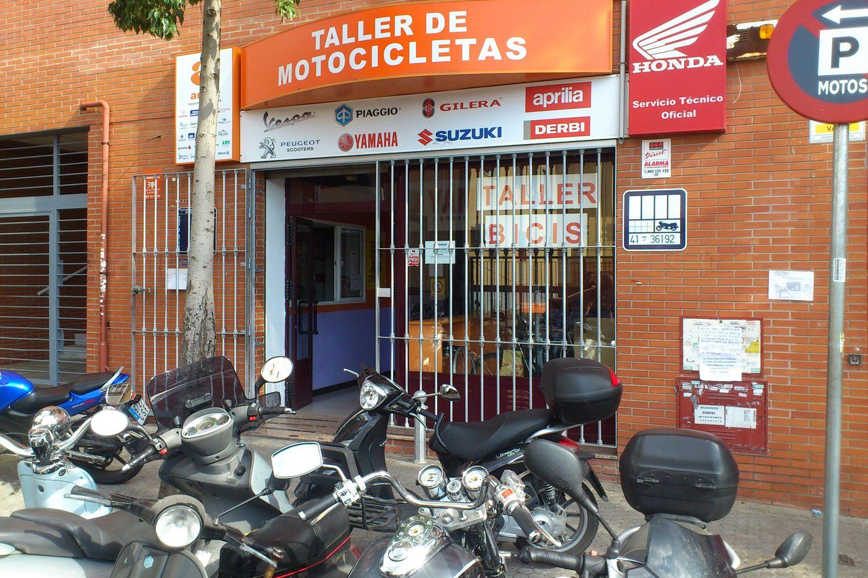Taller de motos en Sevilla