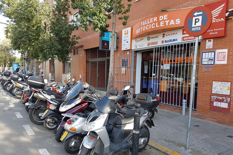 Taller de bicicletas y motos en Sevilla