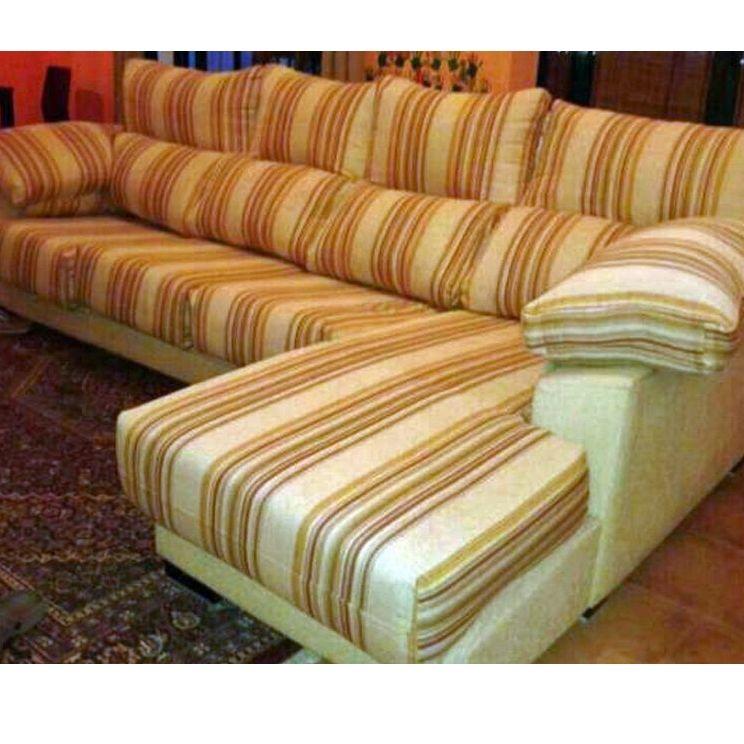 Restauración de sofás: Servicios de Tejidos Belén