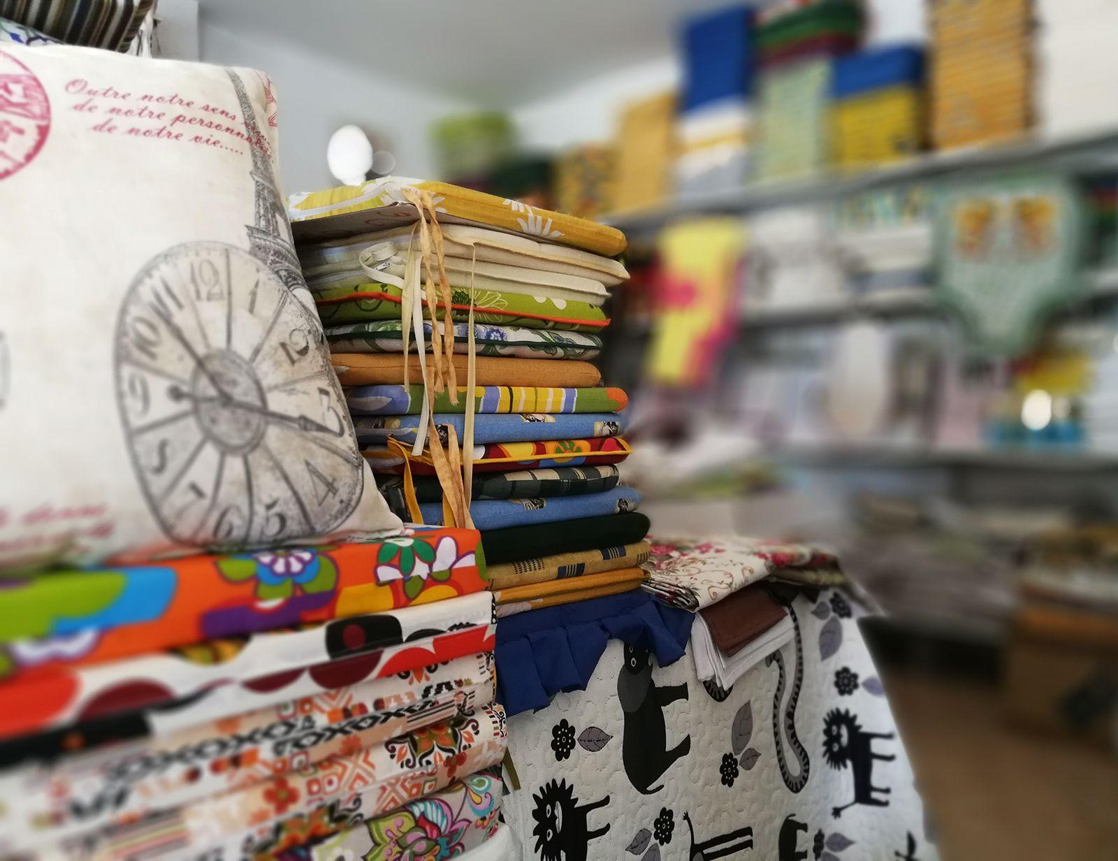 Cojines, telas y ropa de cama en Málaga