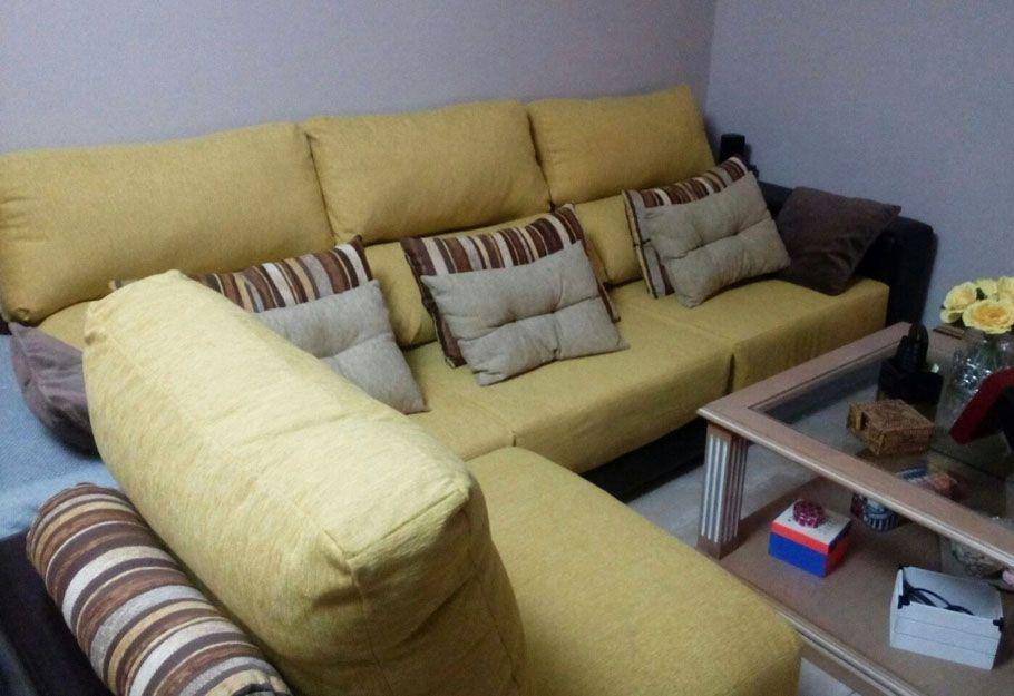 Tapizado de sofás en Málaga
