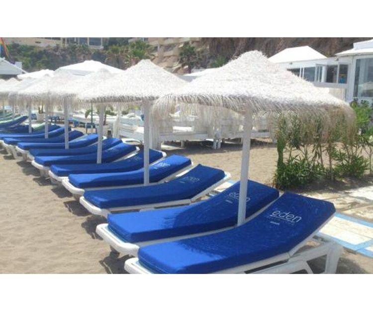 Forros para colchonetas de playa en Torrox
