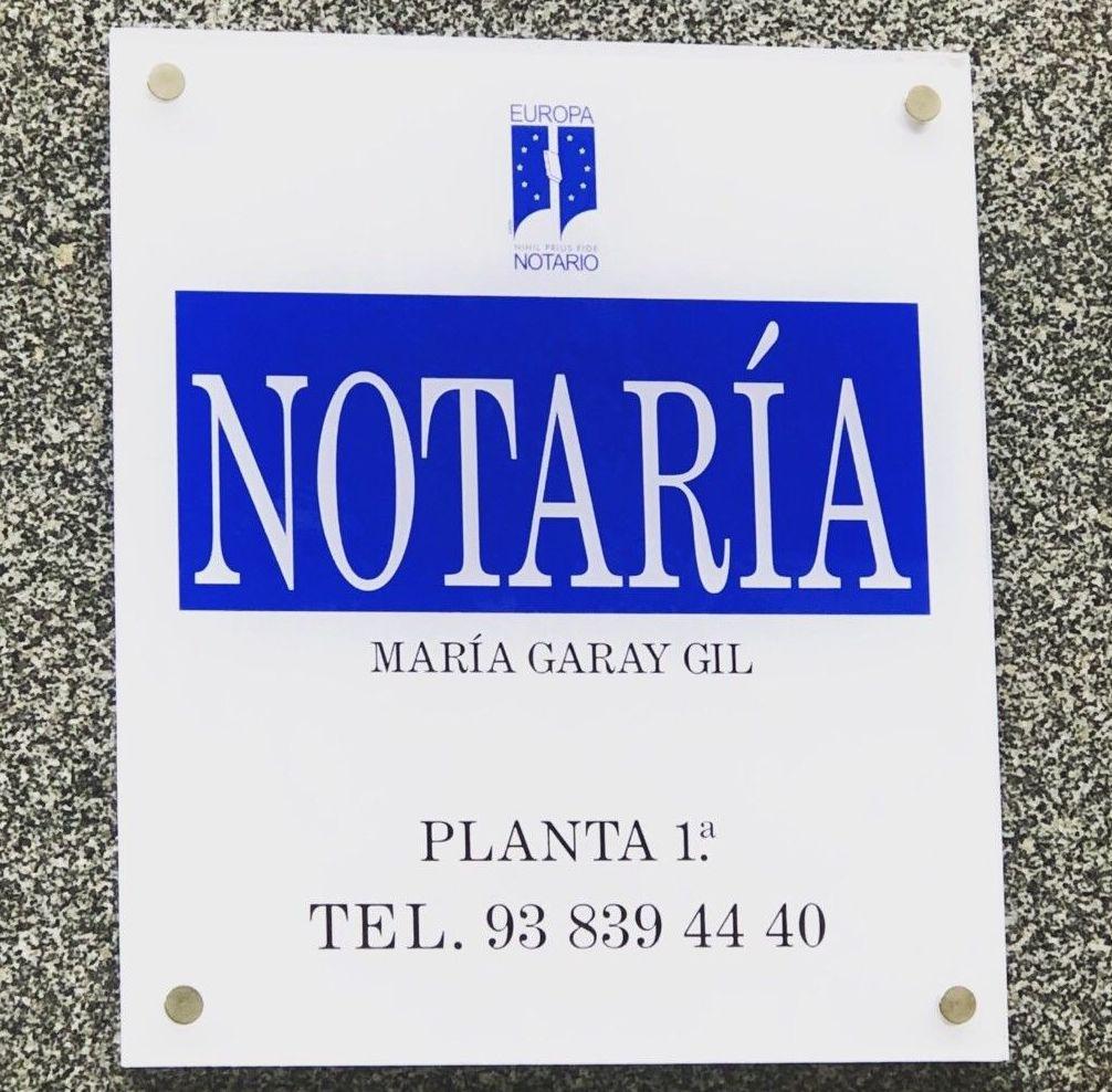Foto 1 de Notarías en Barcelona | Notaría María Garay Gil
