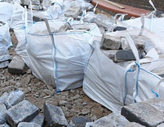 Venta de sacos contenedores de escombros en Bilbao