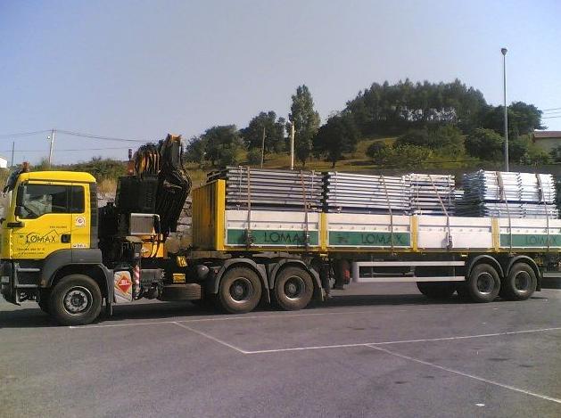 Camión grúa tráiler hasta 20 tm. de carga