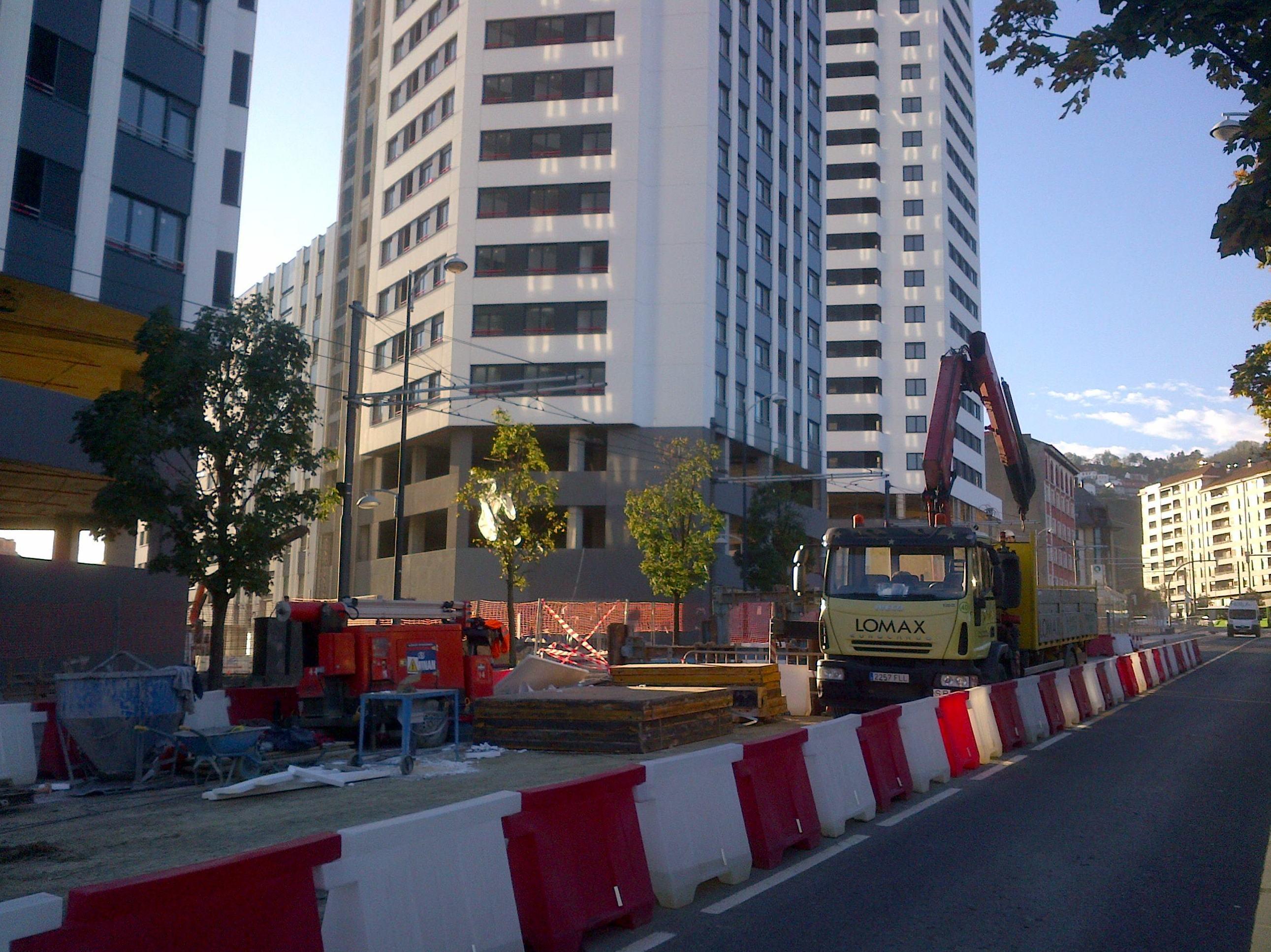 Urbanizacion de garellano Bilbao