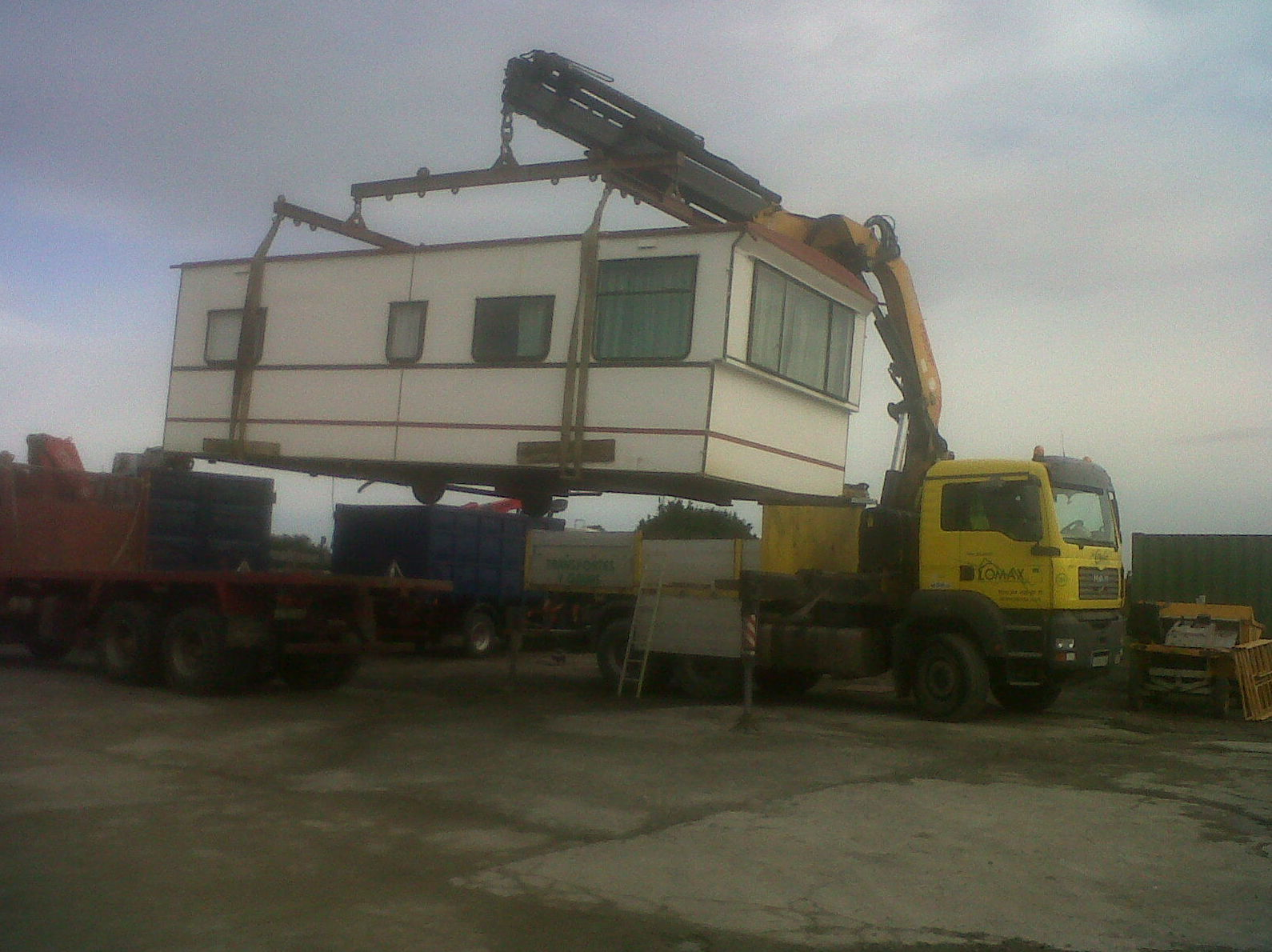 Transporte de modulos