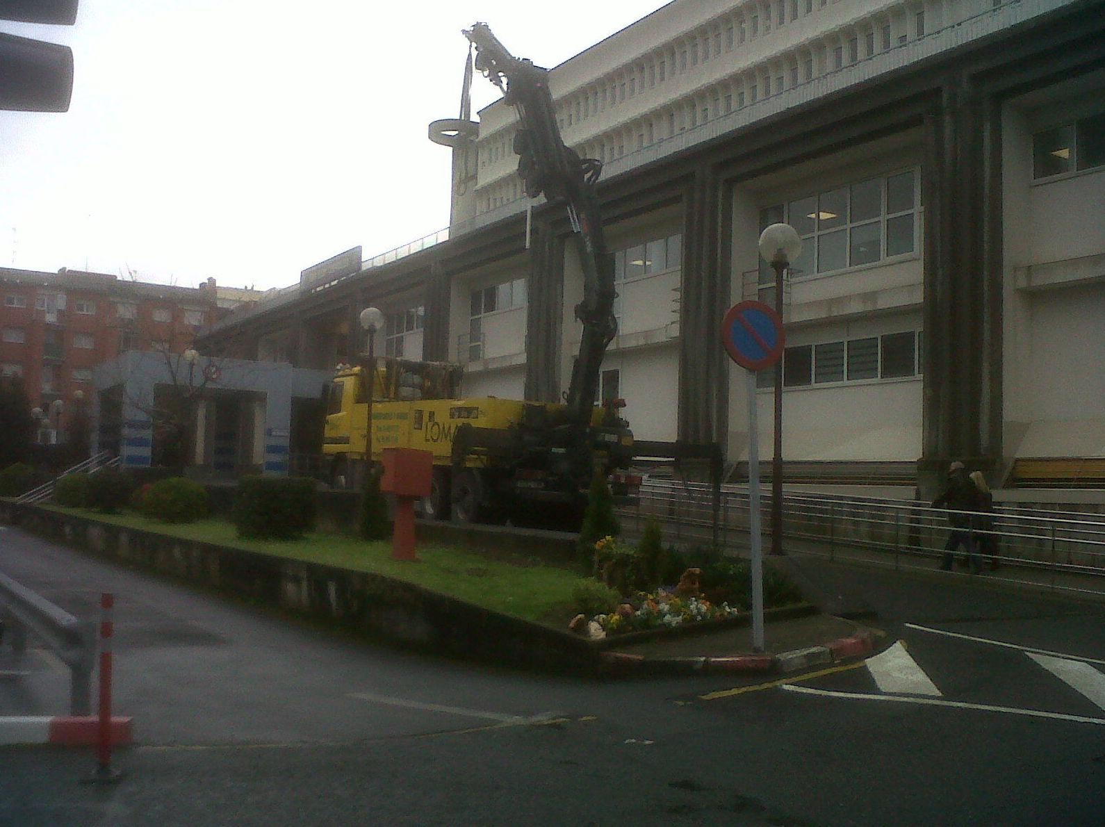 Trabajos en hospita de San Eloy Barakaldo