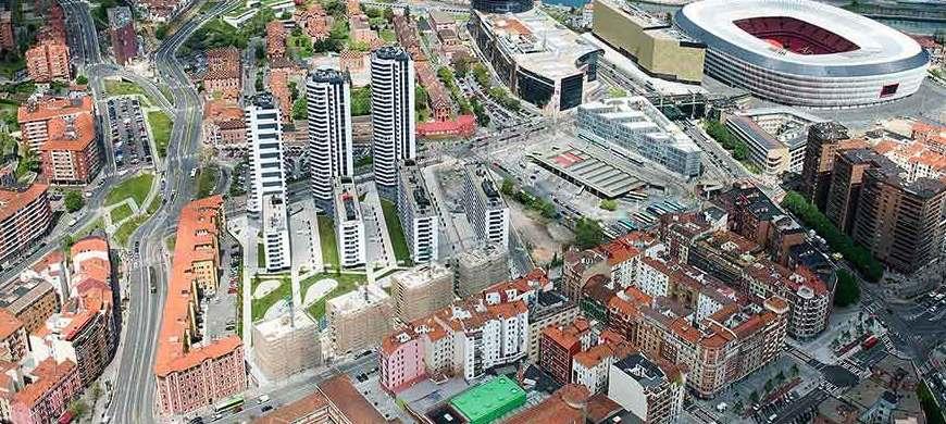 Alquiler de grúas Bilbao