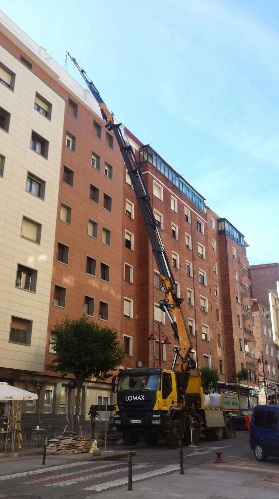 trabajos en terraza en Santurtzi