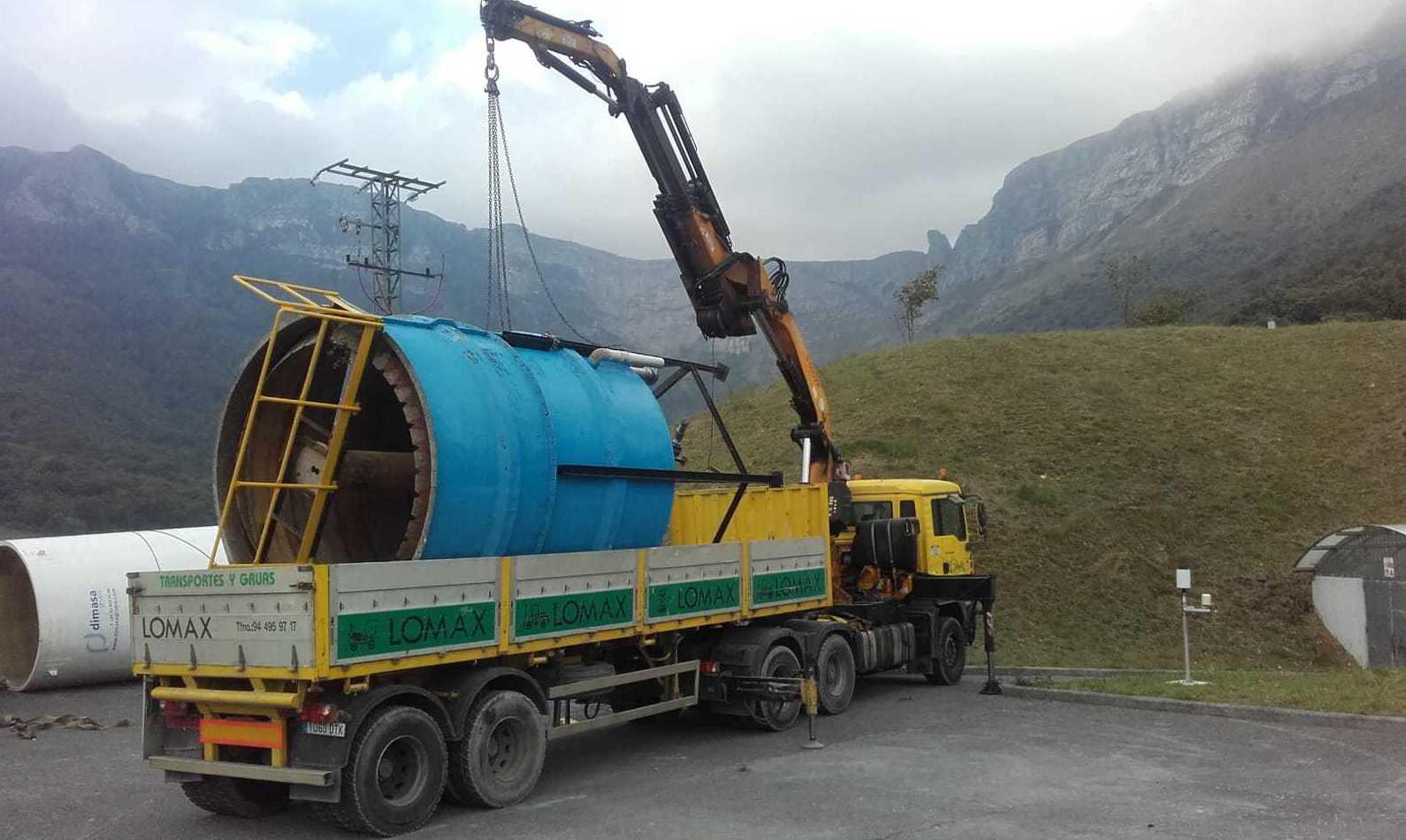 Descarga de silos en durango