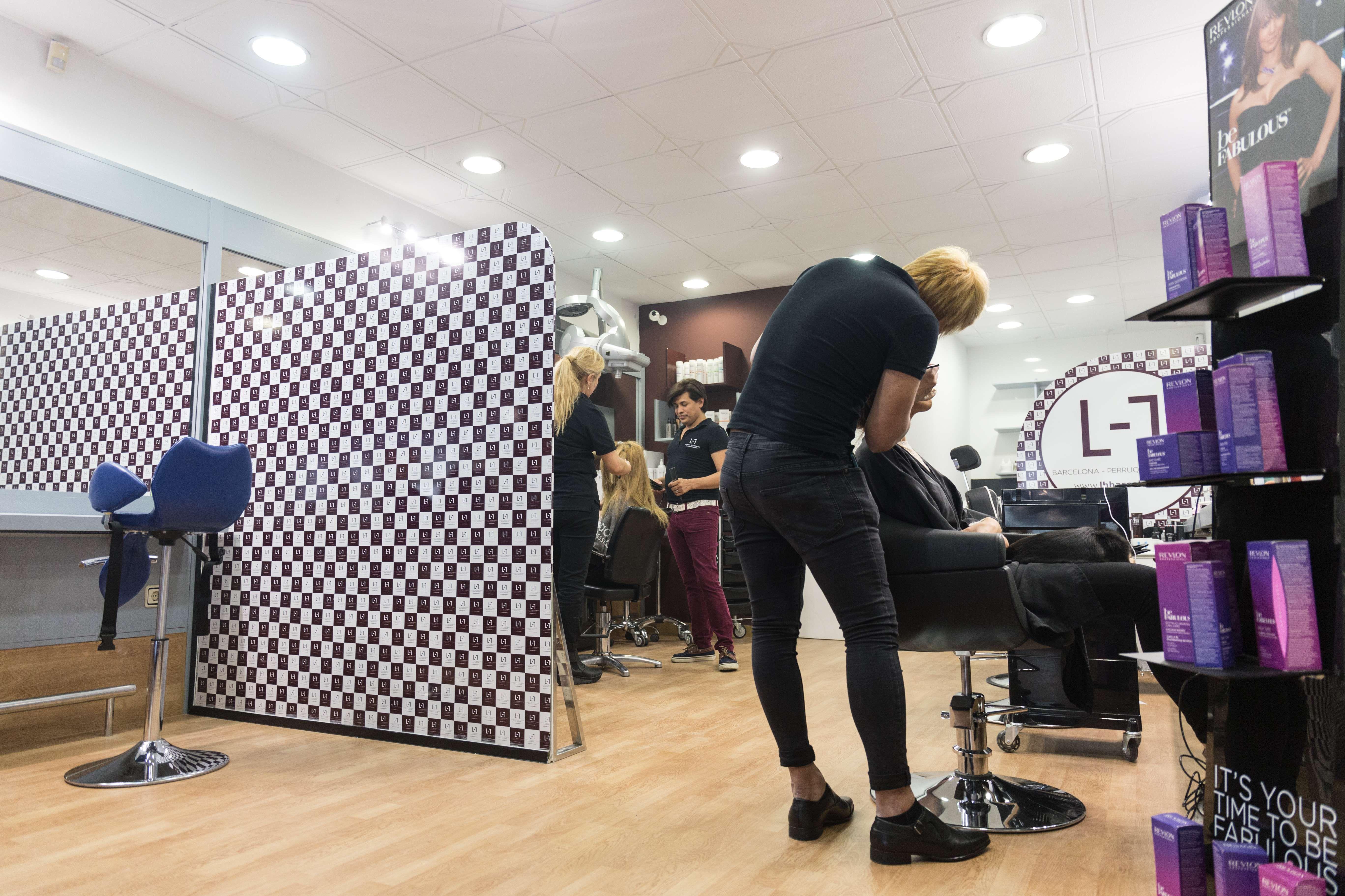 Peluquería especializada en extensiones de pelo en Barcelona