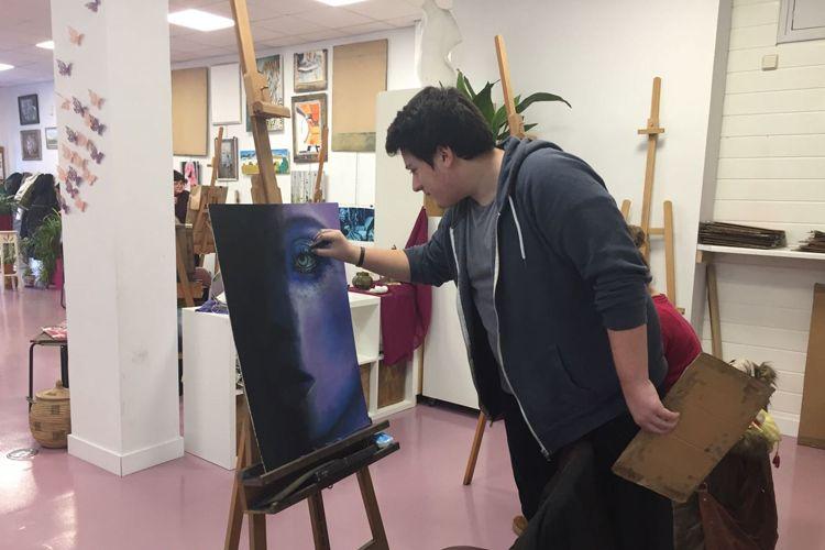 Clases de pintura en distintas técnicas