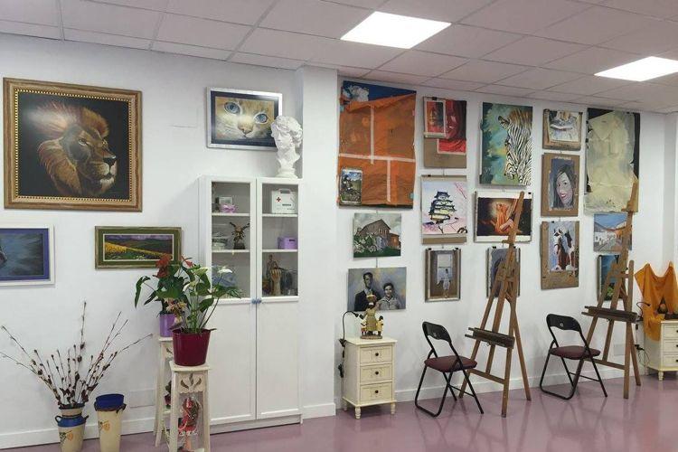 Academia de dibujo y pintura en San Fernando de Henares