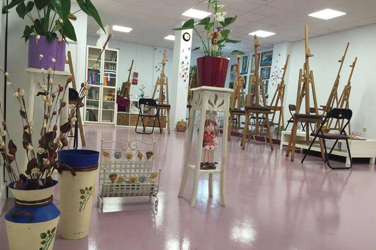 Escuela de pintura en San Fernando de Henares
