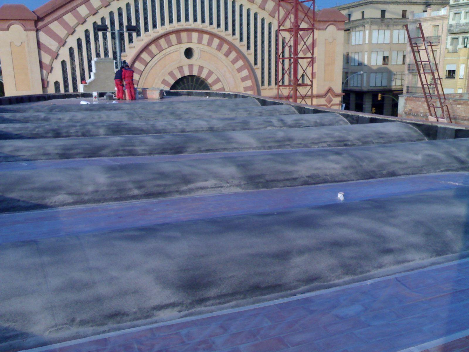Impermeabilización de cubiertas en Barcelona