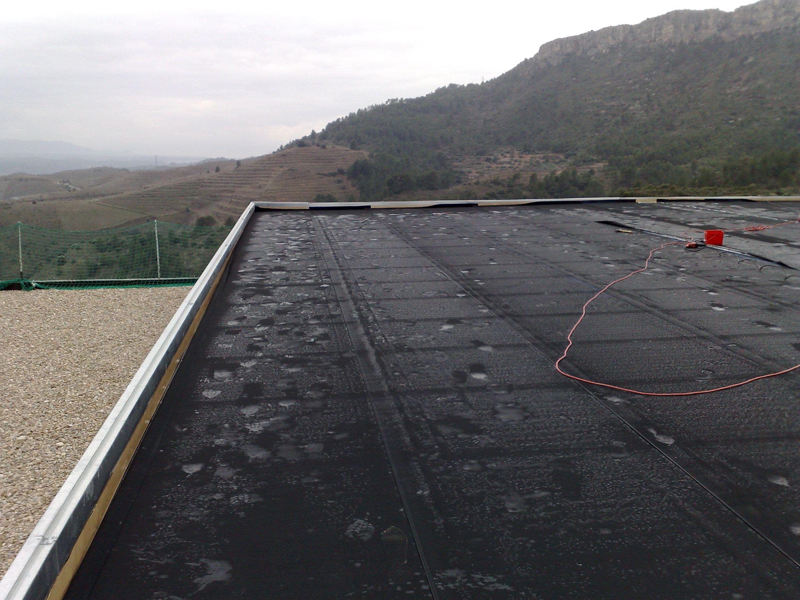 Impermeabilización en cubiertas de edificios