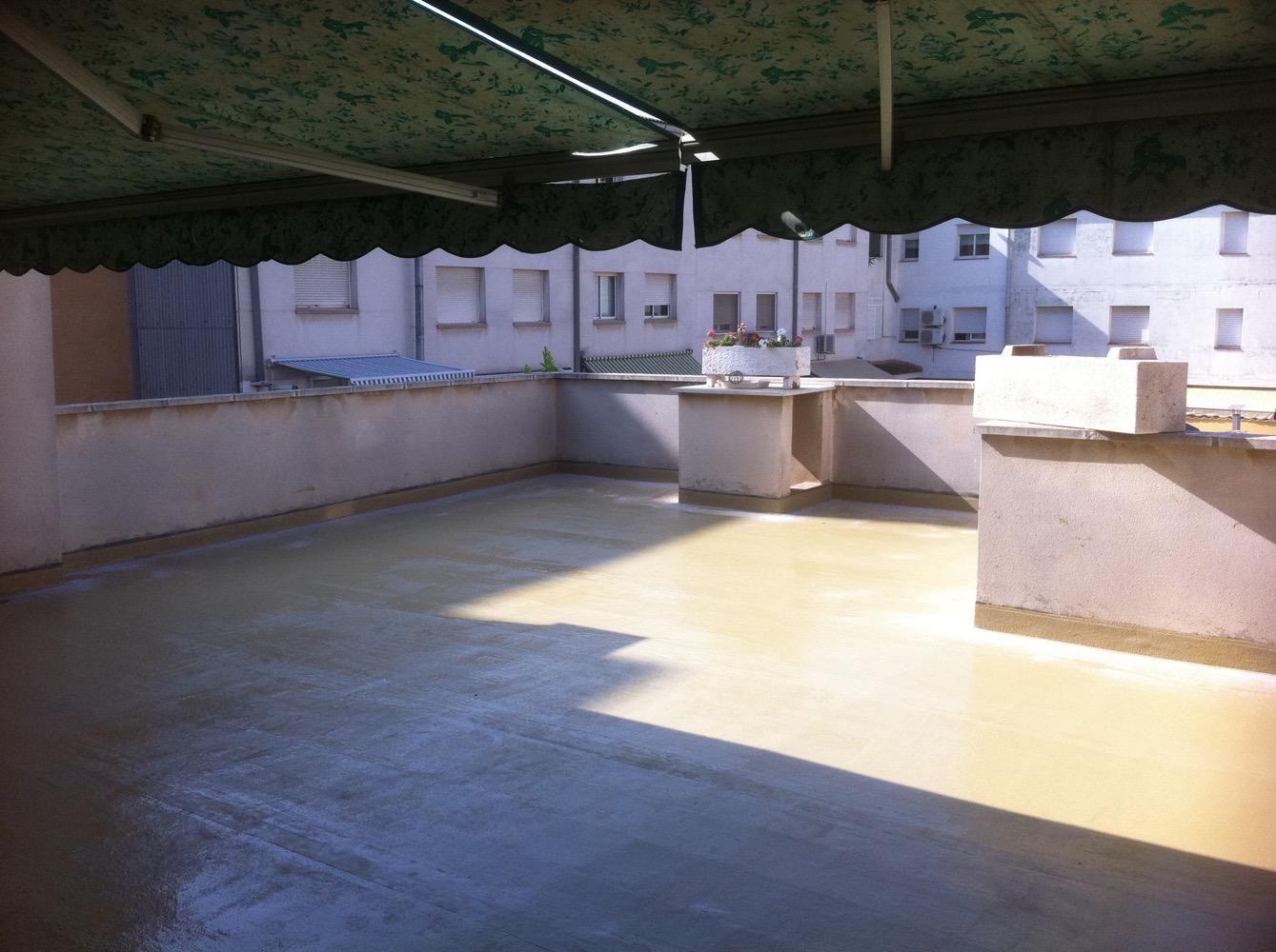 Trabajos de impermeabilización en tejados