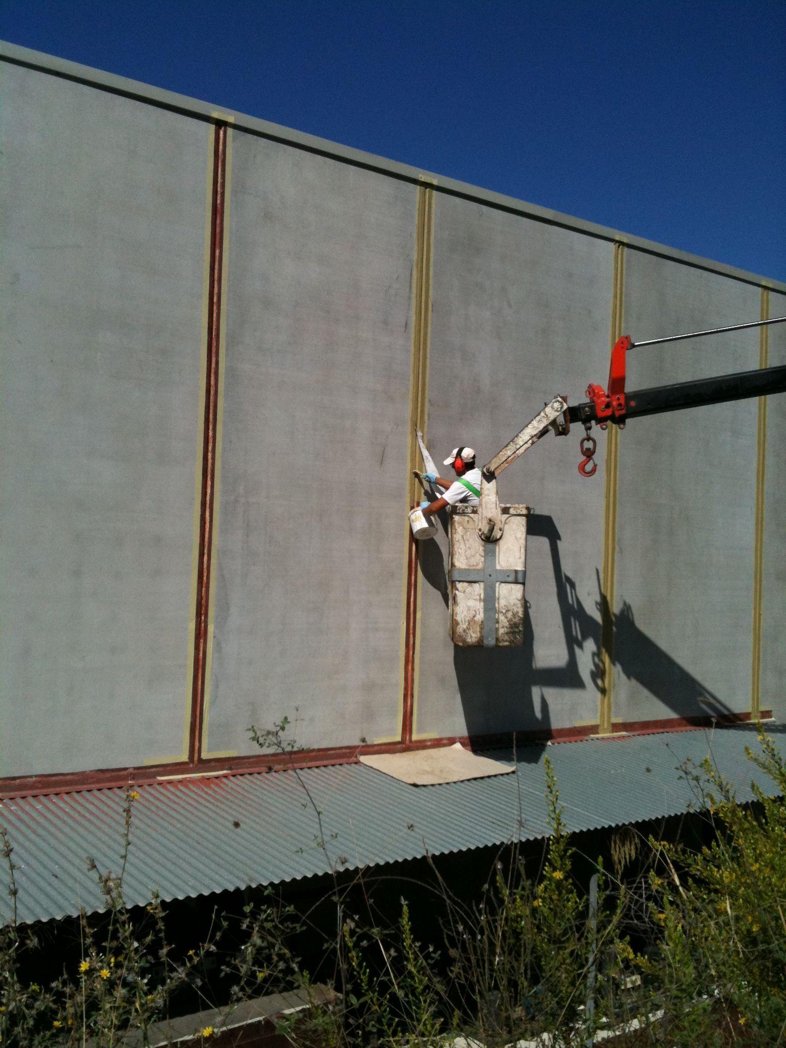 Trabajos de impermeabilización en muros