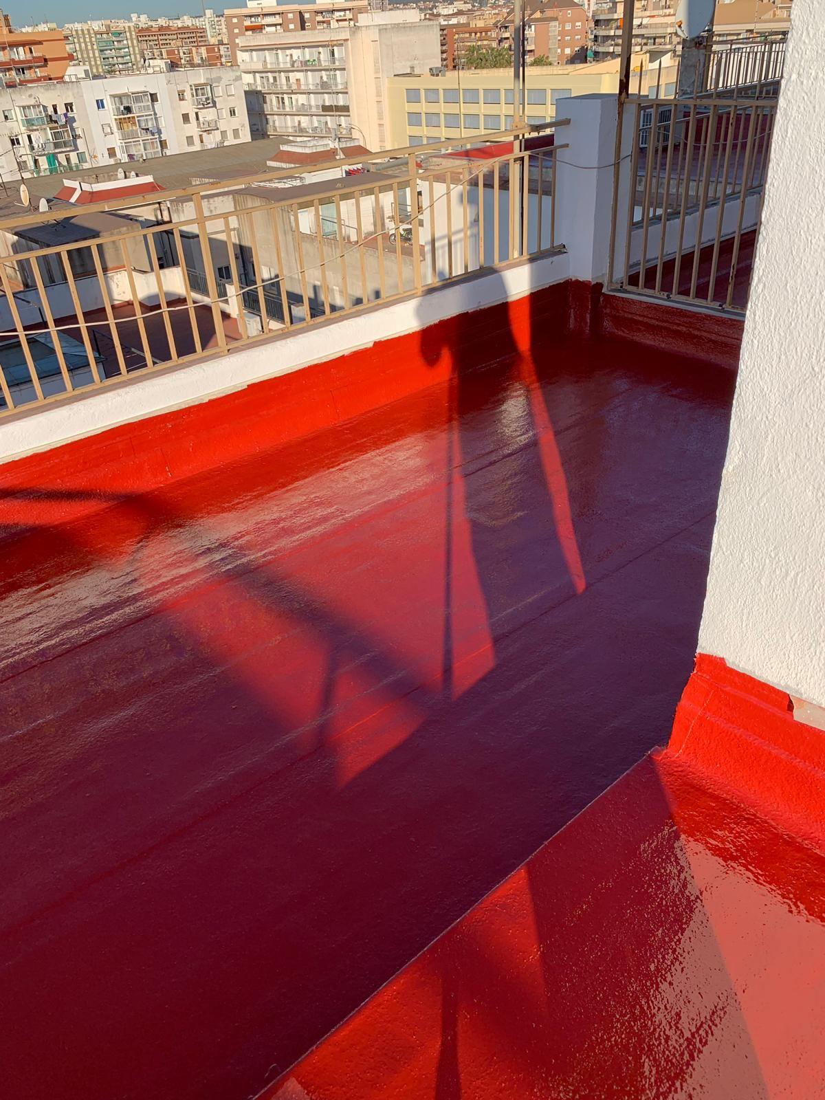 Trabajos de impermeabilización en Vilanova i la Geltrú
