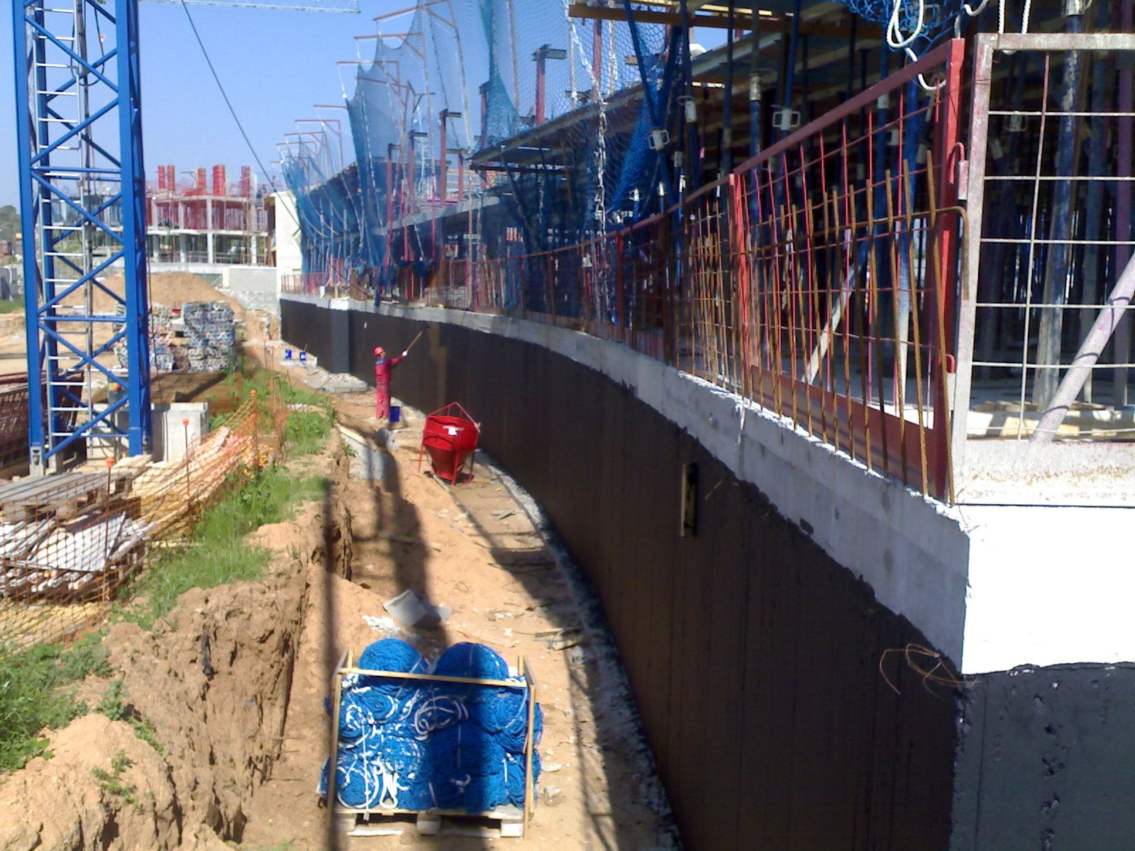 Impermeabilización en muros y cimentaciones