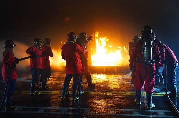 Formación contra incendios: Productos y servicios de Apagal