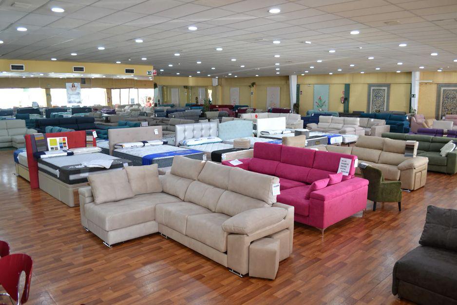 Tienda de sofás en Los Barrios, Cádiz