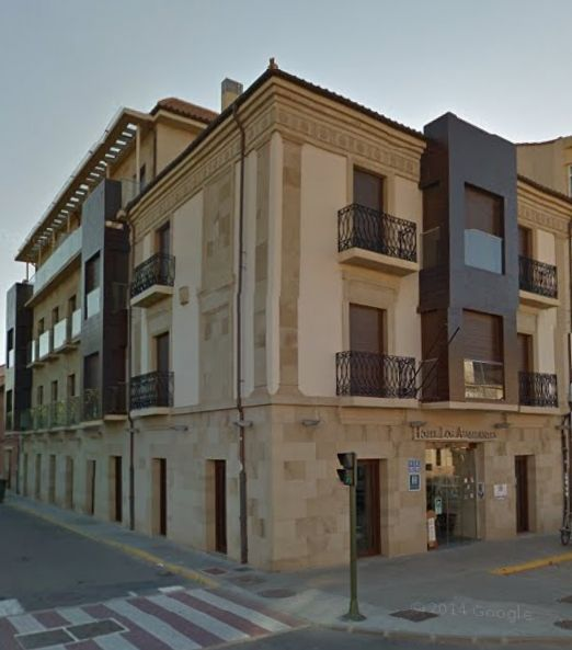 Hotel Los almirantes Medina de Rioseco