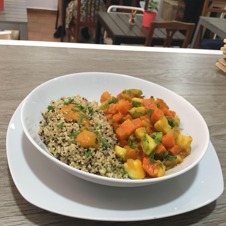 Estofado de Verdura c/Quinoa