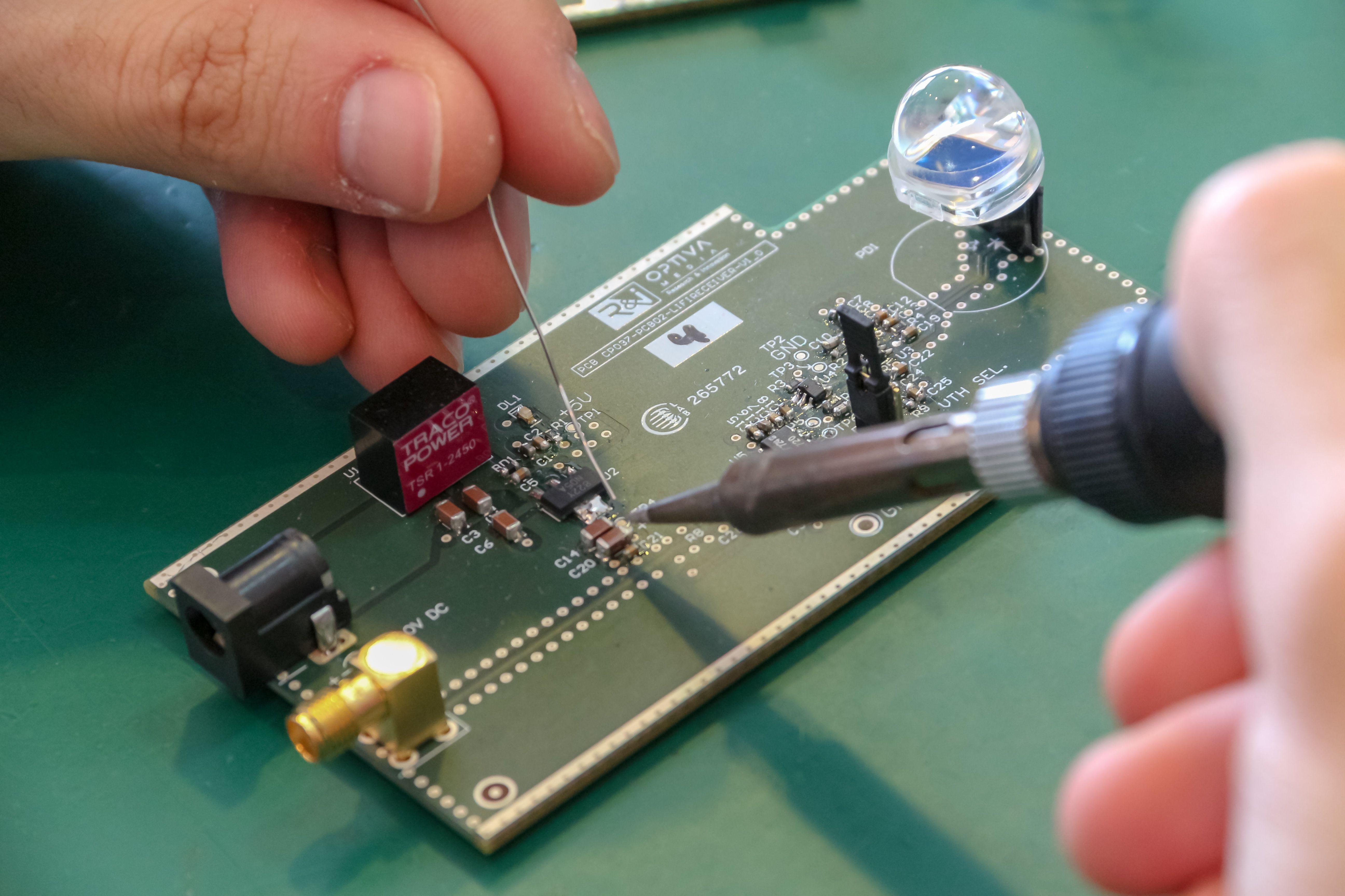 Ingeniería electrónica para la innovación en Madrid
