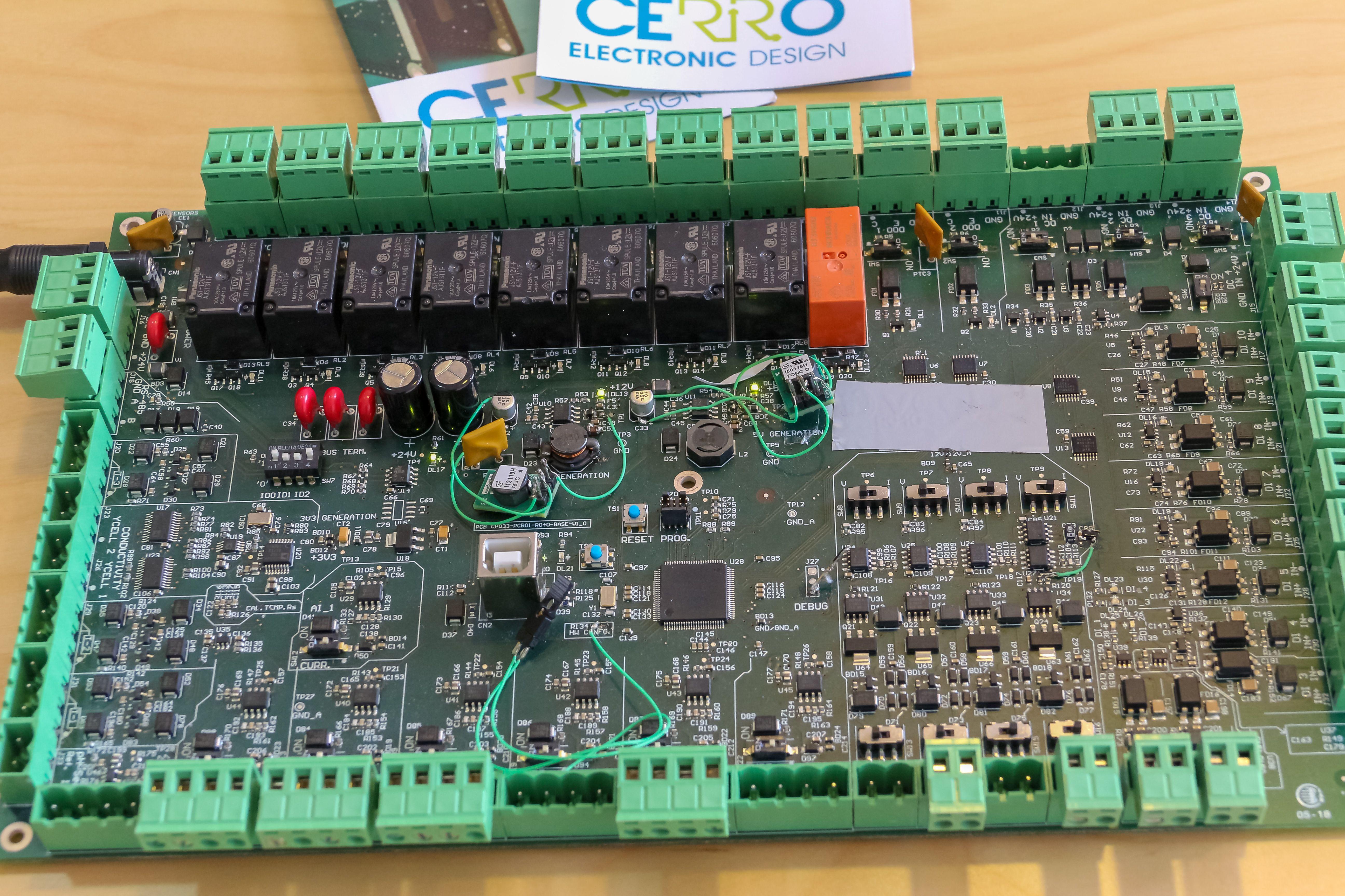 Planes de diseño de proyectos Cerro Electronic Desing en Madrid