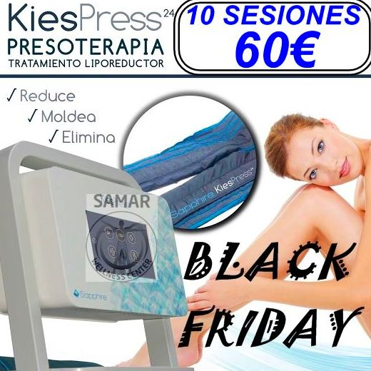 BLACK FRIDAY PRESOTERAPIA