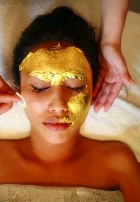 mascara oro, belleza facial, tratamiento facial en valladolid, estetica valladolid