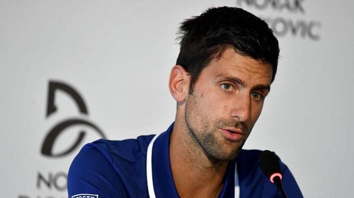 Novak Djokovic recurre a la medicina tradicional china