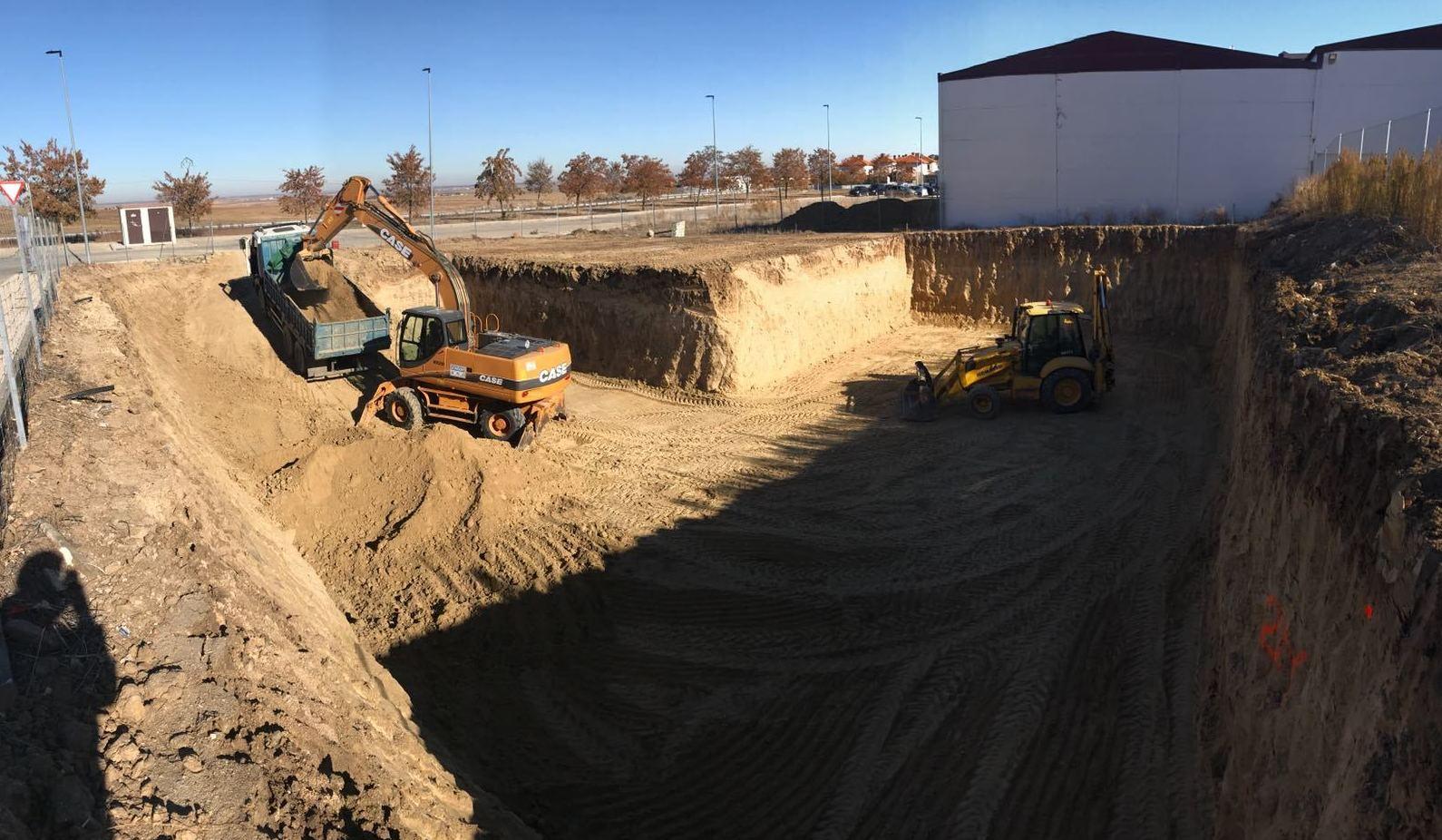 Empresa de excavaciones en cualquier tipo de terreno