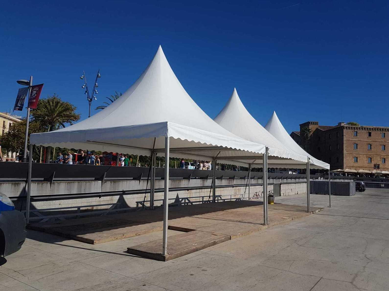 Montaje, venta y alquiler: Carpas y pagodas de Carpas Casamayor