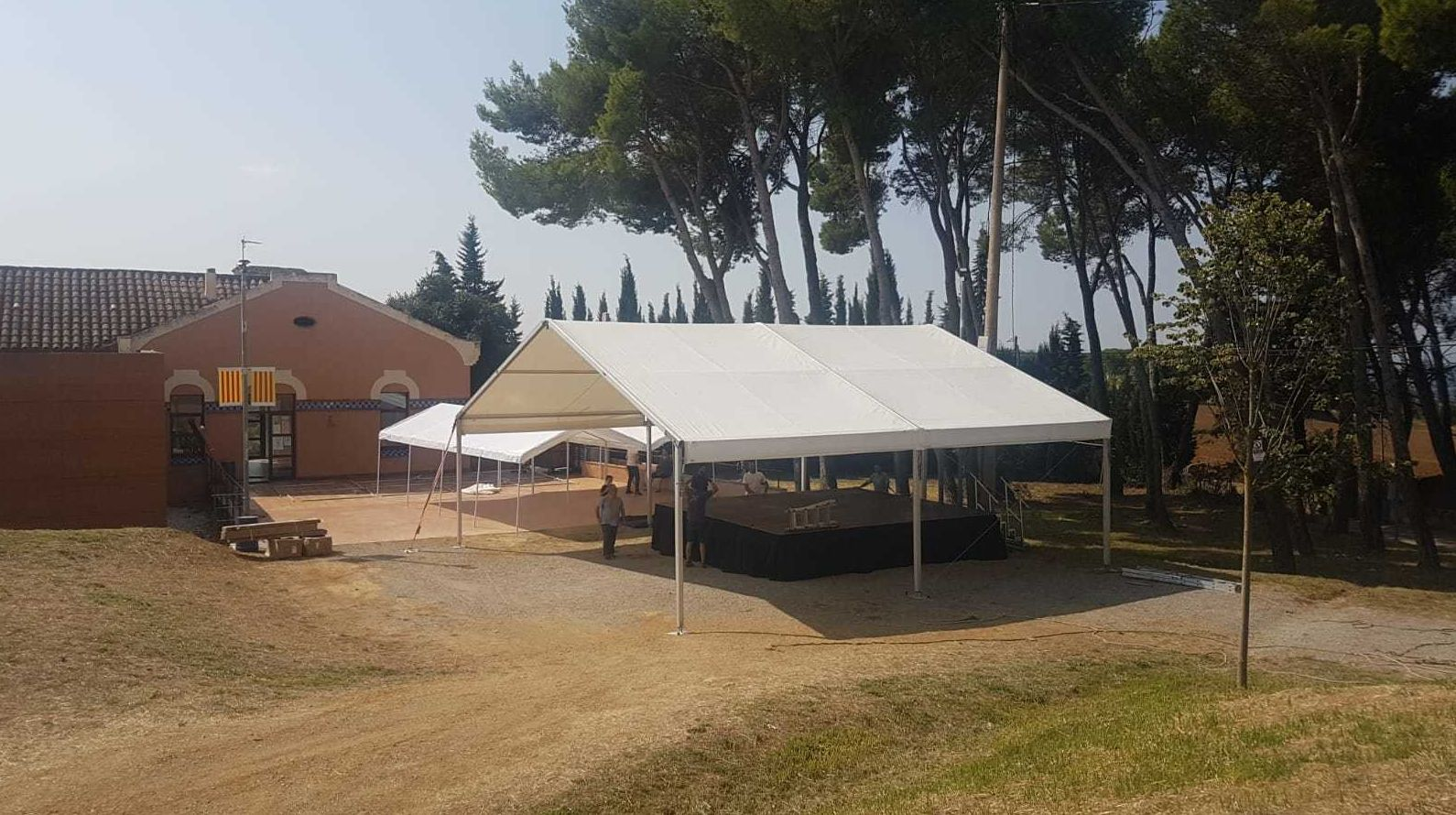 Alquiler de carpas para eventos en Girona