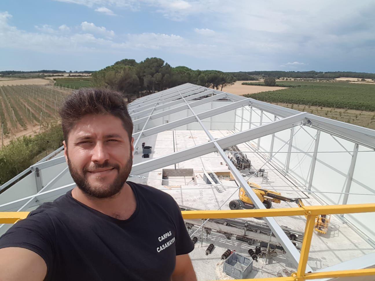 Venta y alquiler de carpas en Girona