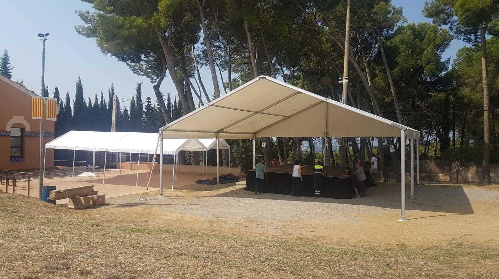 Montaje, venta y alquiler de carpas para eventos en Girona